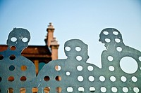 Matadero centre of art and culture in Madrid Rio, Madrid, Spain  Madrid Rio is the last great ecological development in the city
