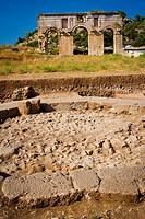 Patara ruins  Antalya province  Mediterranean coast  Turkey