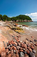 Black Brook Beach, Cape Breton Highlands National Park, Nova Scotia, Canada
