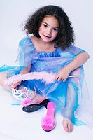 Little girl princess costume