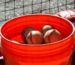 bucket of ball