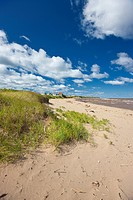 Beach, Wharf Road, Little Shemogue, Acadian Coast, New Brunswick, Canada