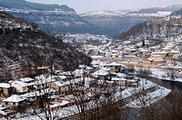 Veliko Tarnovo in the Winter
