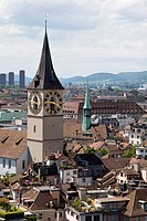 St. Peter´s church in Zurich