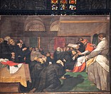 Crespi, Giovanni Battista, Il Cerano 1577_1633 Saint Charles Borromeo Receiving the Barnabites and Jesuits.