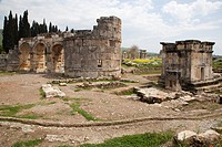 The City of Hierapolis was established within the site of Pamukkale probably circa 197–159 BC, and was named after Hiera, wife of Telephos. Circa 133 ...
