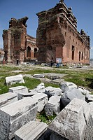 The temple was probably founded in 2nd century AD, during the time of Emperor Hadrian. The building complex consisted of a rectangular planned monumen...