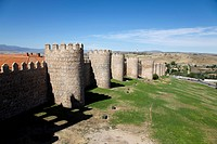 Avila Old Town with its Extra_Muros churches is a UNESCO world heritage site since 1985