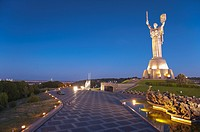 Motherland Statue - Rodina Mat and The National War Museum Kiev, Ukraine, Europe