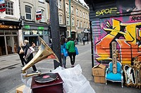 Brick Lane  London  England  United Kingdom  UK.
