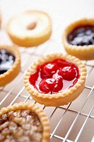 The various kinds of tart on the baking ware