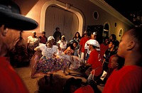 Traditional Dancers, Sao Luis, Maranhao, Sao Luís Island, Brazil