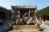 Hoi Quan Quang Trieu, Cantonese Assembly Hal, Hoi An, Annam, Vietnam