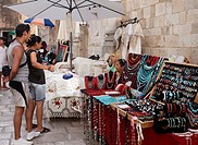 Market, Dubrovnik, Dubrovnik_Neretva county, Dalmatia, Croatia