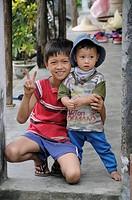 Children, Vuon Thi, Vietnam, Southeast Asia, Asia