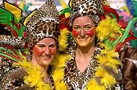 Carnival, Isla Cristina, Huelva-province, Spain,