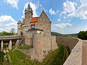 Spangenberg Castle, Spangenberg, Schwalm Eder district, Hesse, Germany, Europe, PublicGround