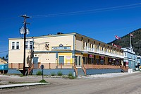 Westmark Inn Hotel, Dawson City, Canada, North America