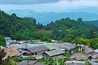 Thailand, Chiang Mai, hmong village