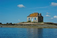 France, Brittany, house of Saint Cado