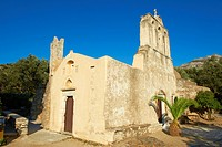Panagia Drossiani, Byzantine style church, Moni, Naxos, Cyclades Islands, Greek Islands, Greece, Europe