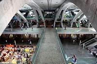Gare do Oriente, Parque das Nações, Lisbon, Portugal.