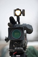 a media coverage camera, newton, manitoba, canada