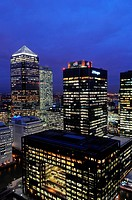 Canary Wharf, business and banking district, London, England, United Kingdom