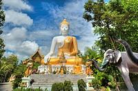 doi kham buddhist temple, chiang mai thailand