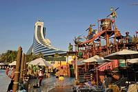 United Arab Emirates, Dubai, Jumeirah beach hotel, Wild Wadi Water park