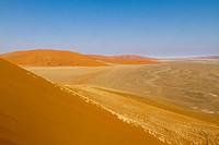 Namibia, Hardap region, Namib desert, Namib_Naukluft national park, Sossusvlei dunes