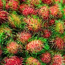 Ripe fruits _ rambutan