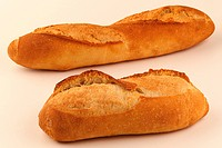 Bâtard bread loaves