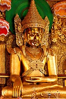 Myanmar Burma, Shan state, Kyaing Tong, buddha statue