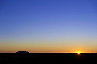 Australia, Northern Territory, Uluru_Kata Tjuta National Park listed as World Heritage by UNESCO, Ayers Rock or Uluru , sandstone rock sacred place fo...