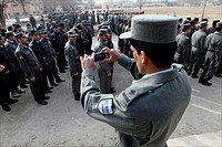graduation of Afghan National Police officers in Kabul