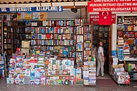 Turkey, Istanbul, historical centre listed as World Heritage by UNESCO, Sultanahmet district, the book market
