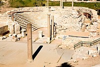 Egypt, Lower Egypt, the Mediterranean Coast, Alexandria, the roman theater