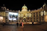 Austria, Vienna, historic center listed as World Heritage by UNESCO, MichaelerplatzMichaelerplatz