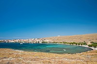 Grce, north east Aegean islands, Lesbos island, Sigri, the fishing harbour on the west coast