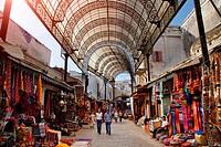 Morocco, Rabat, the medina, rue des Consuls