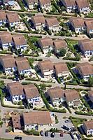 France, Var, Vidauban, subdivision aerial view