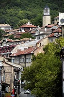 Bulgaria, Veliko Turnovo, looking up Samovodska Charshia Street
