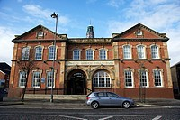 falls road carnegie branch public library Belfast Northern Ireland UK