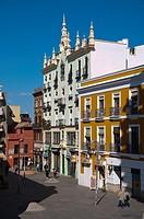 Plaza de la Encarnacion square Seville Andalusia Spain