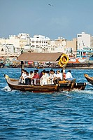 Abra Water Taxi, the Creek, Dubai City, Dubai, United Arab Emirates.