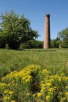 France, Bas Rhin, Parc Naturel Regional des Vosges du Nord Northern Vosges Regional Natural Park, Niederbronn, Grand Wintersberg, observation tower, 2...