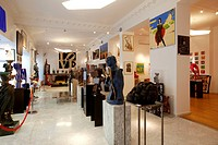 France, Alpes Maritimes, Nice, Ferrero gallery, created by Jean Ferrero in 1972, Gallery has works of pop art and modern masters