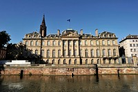 France, Bas Rhin, Strasbourg, old town listed as World Heritage by UNESCO, the Palais des Rohan, Museum of Decorative Arts, Fine Arts and Archaeology ...