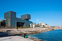 Estoril Sol building Cascais coastal resort near Lisbon Portugal Europe